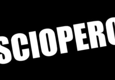 SCIOPERO DEL GIORNO 12 NOVEMBRE 2019