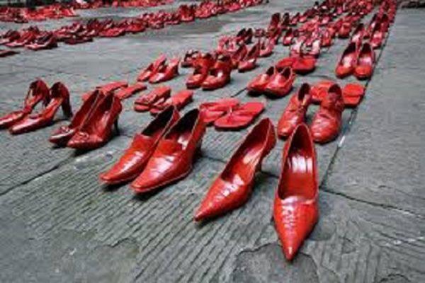 No al femminicidio e alle violenza sulle donne