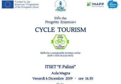 PROGETTO ERASMUS – CYCLE TOURISM