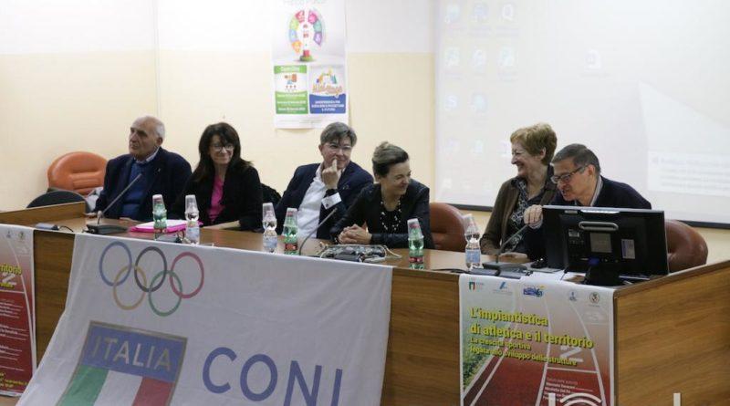 Impianti sportivi, a Vasto il convegno con Sara Simeoni e Giovanni De Benedictis